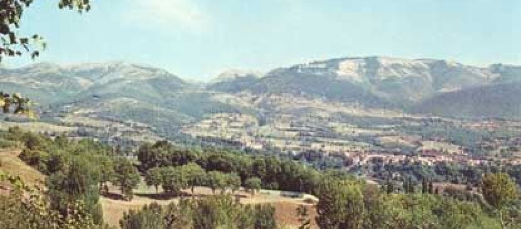 Monti martani panorama
