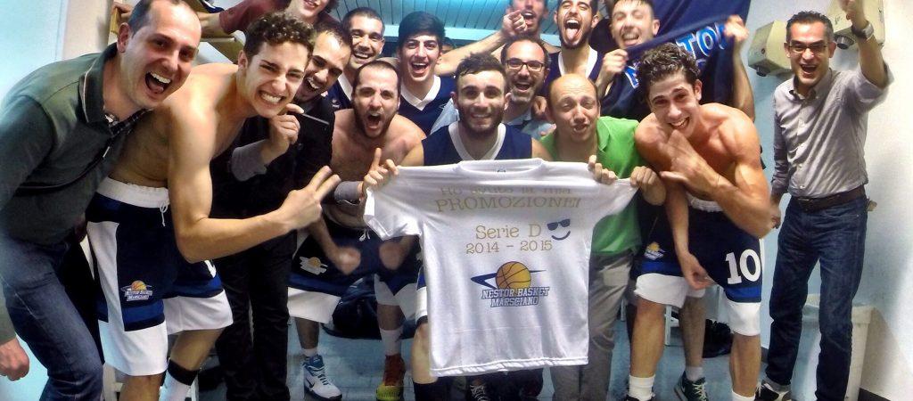 Nestor basket promozione in D 2014