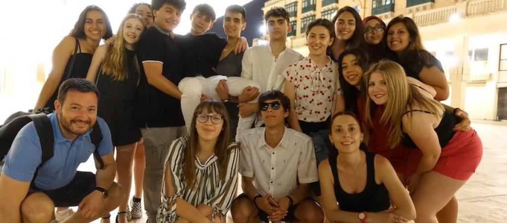 Studenti a Malta 1
