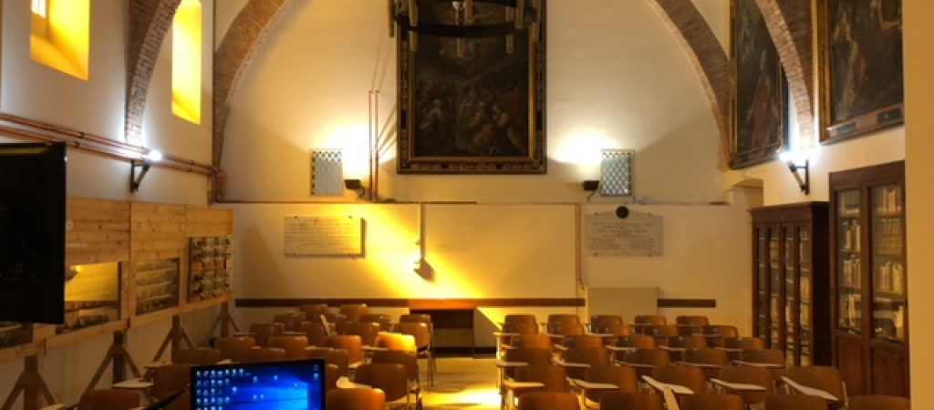 aula magna vista da cattedra