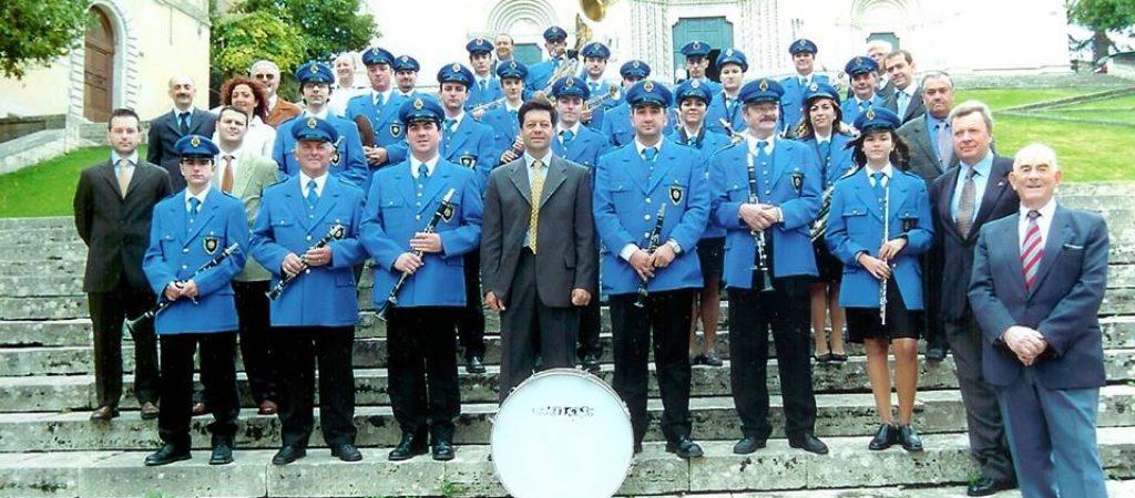 banda musicale pantalla