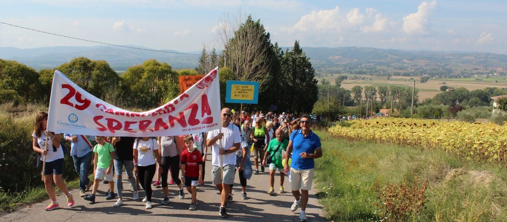 camminata speranza 2018
