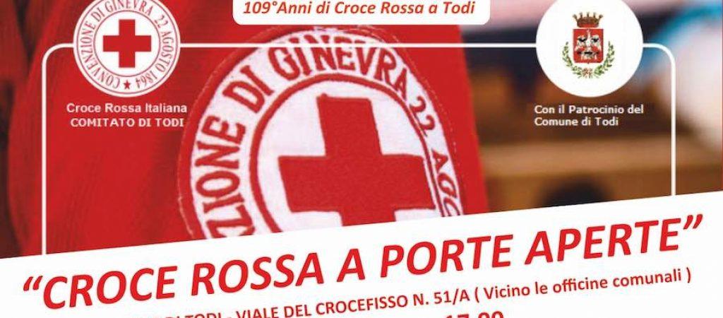 croce rossa a porte aperte