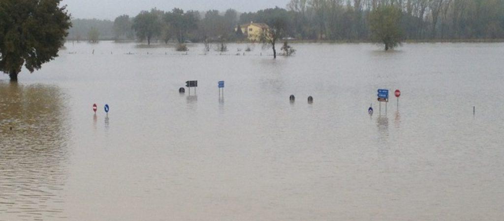 L'alluvione a Todi